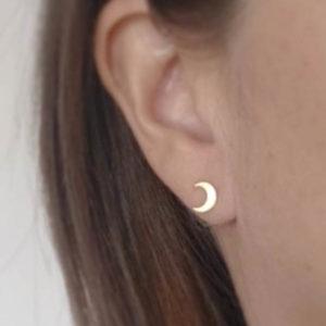 Boucles d'oreilles lunes
